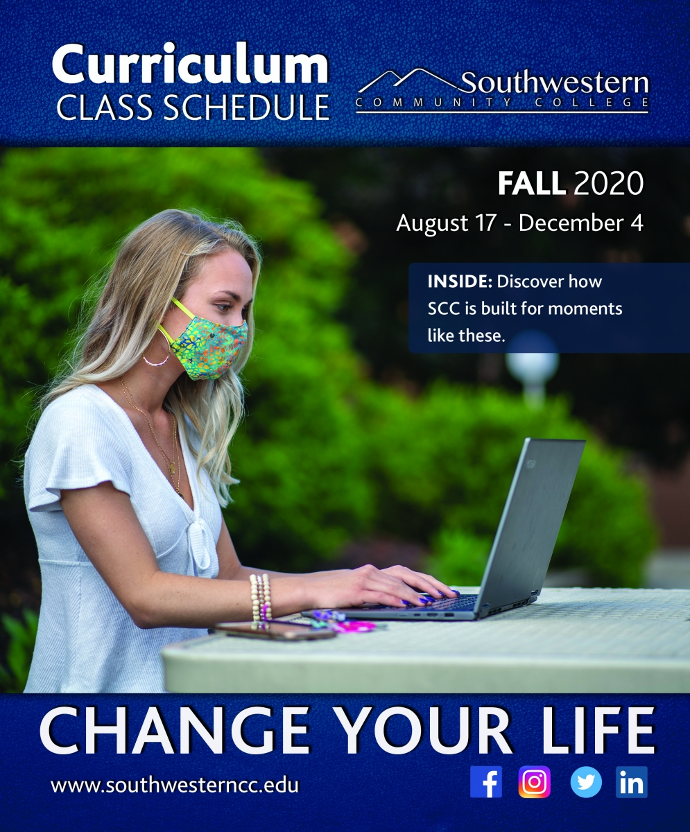Cover image of Fall 2020, class schedule