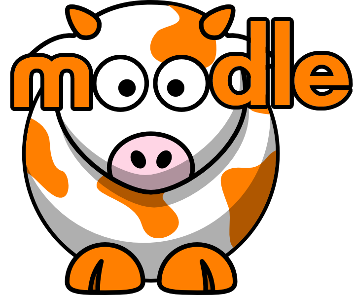 image of moodle cow logo