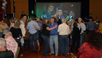 The dance floor was crowded during SCC's Boots, Blue Jeans & Bling gala on Sept. 7 at Harrah's Cherokee Casino Resort.